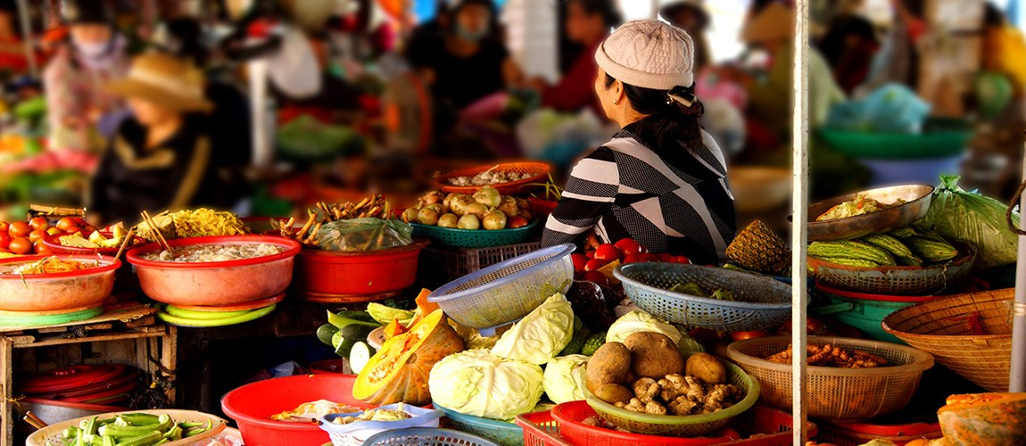 Mouthwatering Food Markets