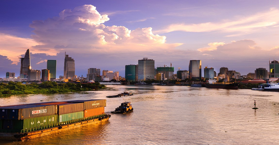 A City Edged by The South China Sea