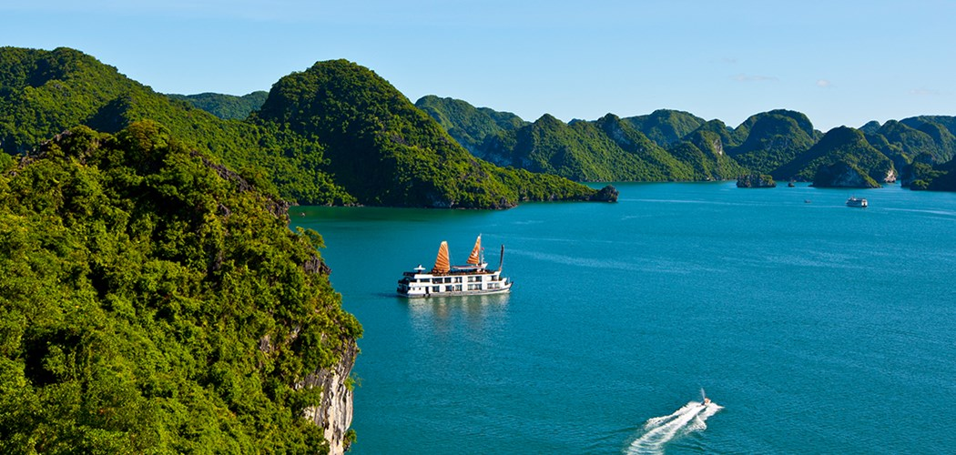 Views over Halong Bay